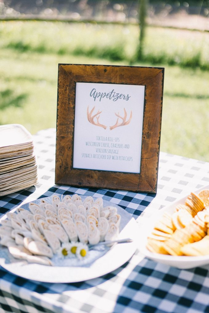 Callie & Crosby's Madeline Island rehearsal dinner. Photos by Jaimee Morse.