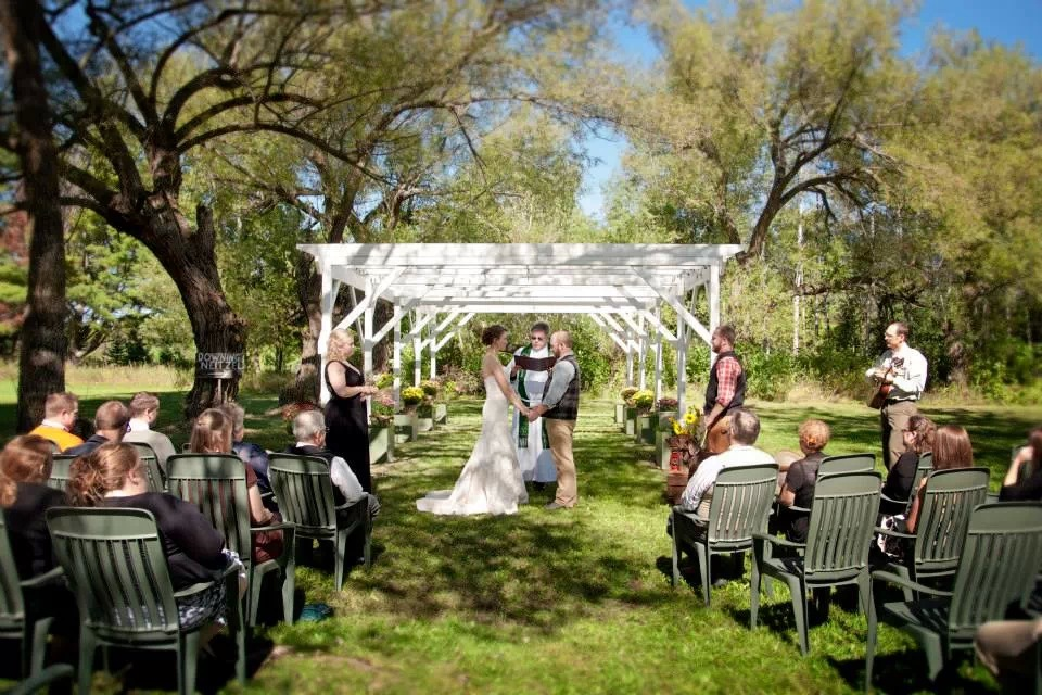 Outdoor Wedding at Good Thyme Washburn, WI