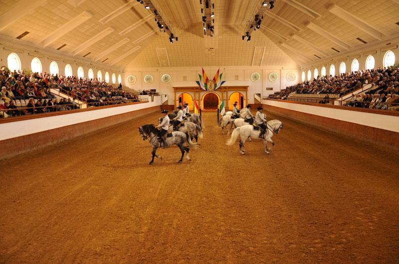 ROYAL ANDALUSIAN SCHOOL of EQUESTRIAN ART, SPAIN