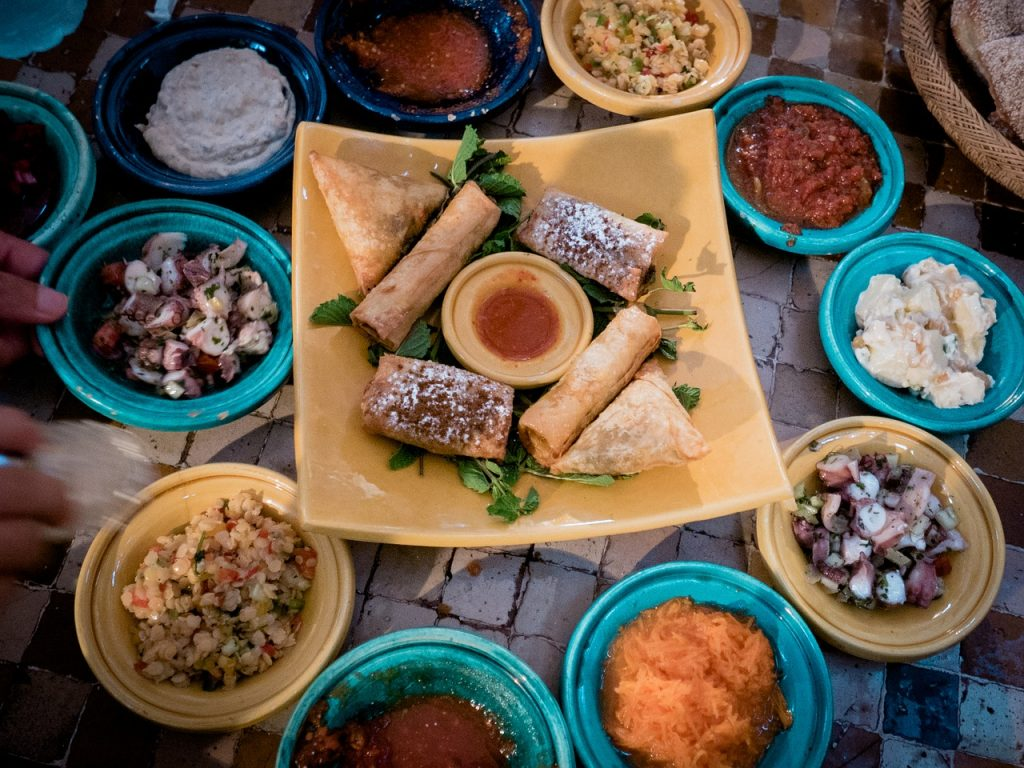 Experience the wonderful flavors of Morocco on a Good Thyme Foodie Trip