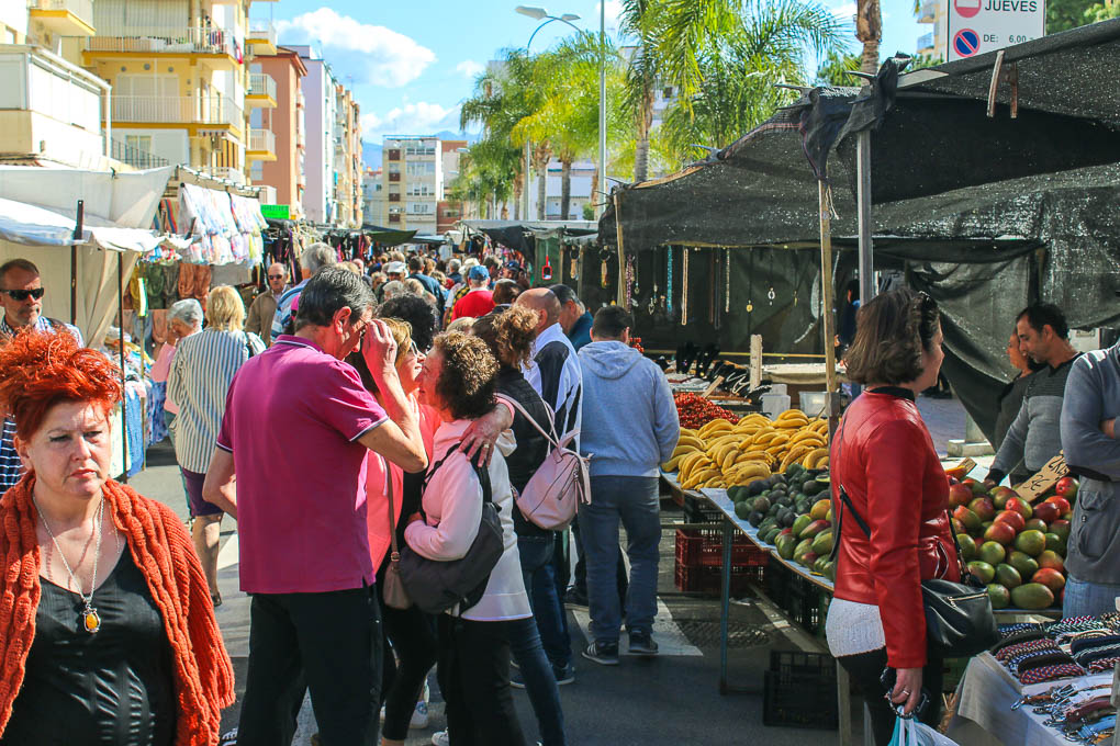 MOORISH MARKET IN MALAGA, SPAIN